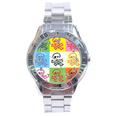 Skull Stainless Steel Watch