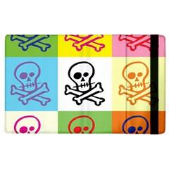 Skull Apple iPad 3/4 Flip Case