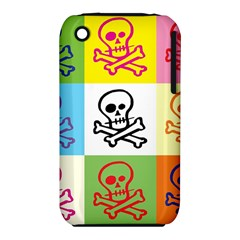 Skull Apple Iphone 3g/3gs Hardshell Case (pc+silicone)