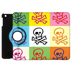 Skull Apple Ipad Mini Flip 360 Case