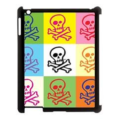 Skull Apple Ipad 3/4 Case (black)