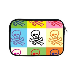 Skull Apple iPad Mini Zippered Sleeve