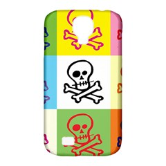 Skull Samsung Galaxy S4 Classic Hardshell Case (pc+silicone)