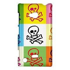 Skull Nokia Lumia 720 Hardshell Case