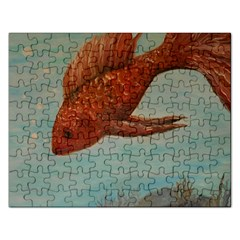 Gold Fish Jigsaw Puzzle (Rectangle)