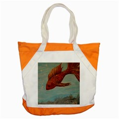 Gold Fish Accent Tote Bag