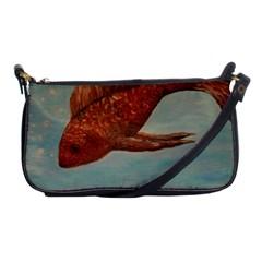 Gold Fish Evening Bag