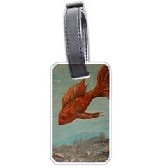 Gold Fish Luggage Tag (Two Sides)
