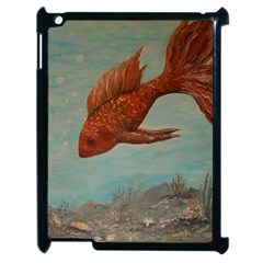 Gold Fish Apple Ipad 2 Case (black)