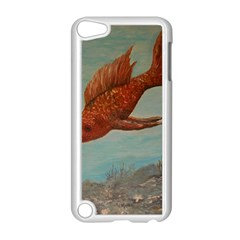 Gold Fish Apple iPod Touch 5 Case (White)