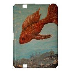 Gold Fish Kindle Fire Hd 8 9  Hardshell Case