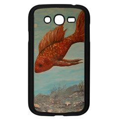 Gold Fish Samsung Galaxy Grand Duos I9082 Case (black)