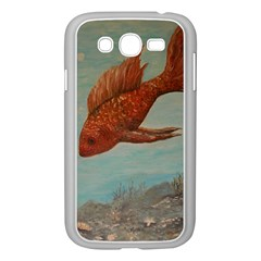 Gold Fish Samsung Galaxy Grand DUOS I9082 Case (White)