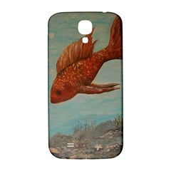 Gold Fish Samsung Galaxy S4 I9500/I9505  Hardshell Back Case