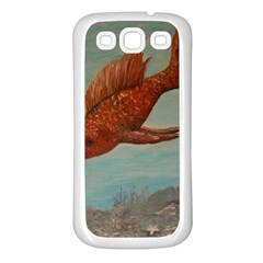 Gold Fish Samsung Galaxy S3 Back Case (white)