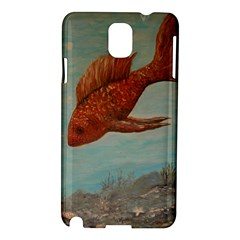 Gold Fish Samsung Galaxy Note 3 N9005 Hardshell Case