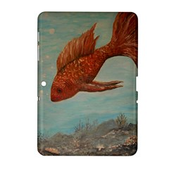Gold Fish Samsung Galaxy Tab 2 (10.1 ) P5100 Hardshell Case