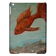 Gold Fish Apple iPad Air Hardshell Case