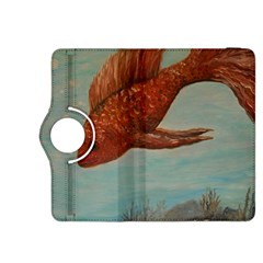Gold Fish Kindle Fire Hdx 8 9  Flip 360 Case