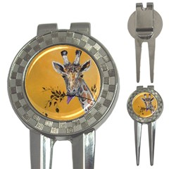 Giraffe Treat Golf Pitchfork & Ball Marker