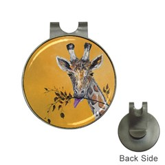 Giraffe Treat Hat Clip with Golf Ball Marker