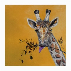 Giraffe Treat Glasses Cloth (Medium, Two Sided)
