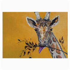 Giraffe Treat Glasses Cloth (Large)