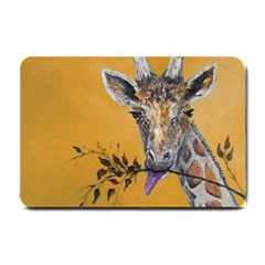 Giraffe Treat Small Door Mat