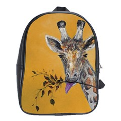 Giraffe Treat School Bag (Large)