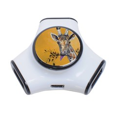 Giraffe Treat 3 Port Usb Hub