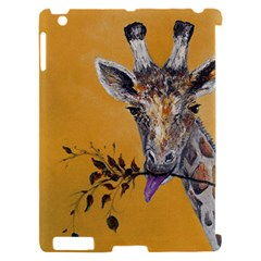 Giraffe Treat Apple iPad 2 Hardshell Case (Compatible with Smart Cover)