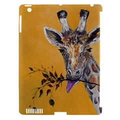 Giraffe Treat Apple Ipad 3/4 Hardshell Case (compatible With Smart Cover)