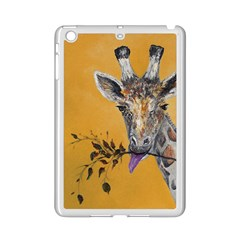 Giraffe Treat Apple iPad Mini 2 Case (White)