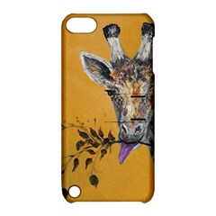 Giraffe Treat Apple Ipod Touch 5 Hardshell Case With Stand