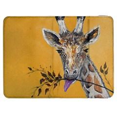 Giraffe Treat Samsung Galaxy Tab 7  P1000 Flip Case