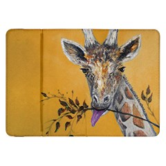 Giraffe Treat Samsung Galaxy Tab 8.9  P7300 Flip Case