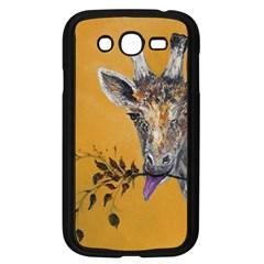 Giraffe Treat Samsung Galaxy Grand DUOS I9082 Case (Black)