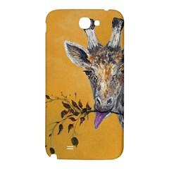 Giraffe Treat Samsung Note 2 N7100 Hardshell Back Case
