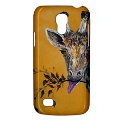 Giraffe Treat Samsung Galaxy S4 Mini (GT-I9190) Hardshell Case