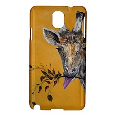Giraffe Treat Samsung Galaxy Note 3 N9005 Hardshell Case