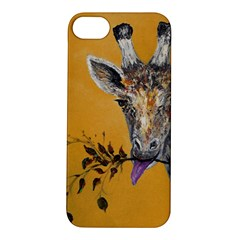 Giraffe Treat Apple iPhone 5S Hardshell Case