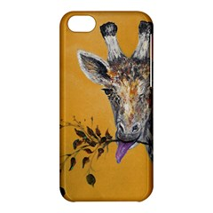Giraffe Treat Apple Iphone 5c Hardshell Case