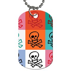 Skull Dog Tag (Two-sided)