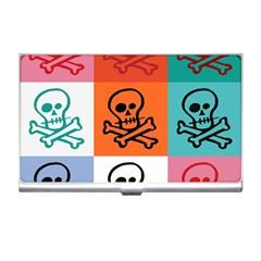 Skull Business Card Holder
