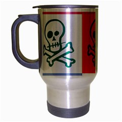 Skull Travel Mug (Silver Gray)