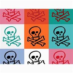 Skull Canvas 36  x 48  (Unframed)