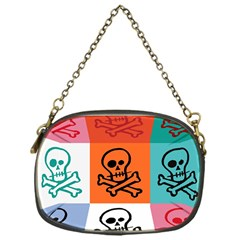 Skull Chain Purse (one Side)