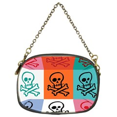 Skull Chain Purse (Two Sided)
