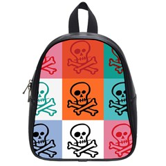 Skull School Bag (small)