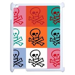 Skull Apple Ipad 2 Case (white)
